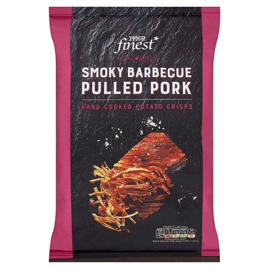 Tesco Finest Smoky Barbecue Pulled Pork Crisps 150 g