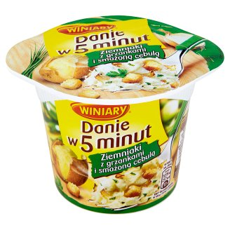 Winiary Danie w 5 minut Potatoes with Croutons and Fried Onions 57 g