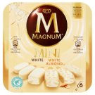 Magnum Mini White White Almond Ice Cream 360 ml (6 Pieces)