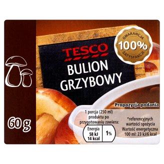 Tesco Mushroom Bouillon 60 g (6 Cubes)