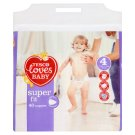 Tesco Loves Baby Super Fit Pieluszki jednorazowe 4 maxi 7-18 kg 40 sztuk
