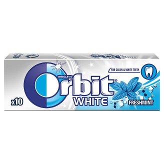 Orbit White Fresh Mint Sugarfree Chewing Gum 14 g (10 Pieces)