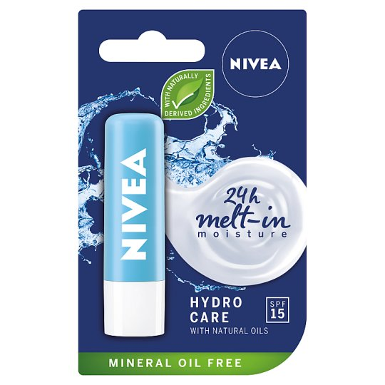 NIVEA Hydro Care Caring Lip Balm 4.8 g