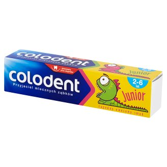 Colodent Junior Toothpaste for Children 2-6 Years Old 56 g