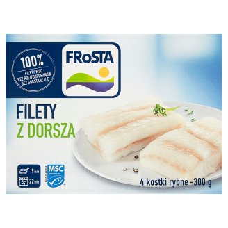 FRoSTA Cod Fillets 300 g (4 Pieces)