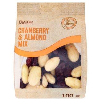 Tesco Cranberry & Almond Mix 100 g