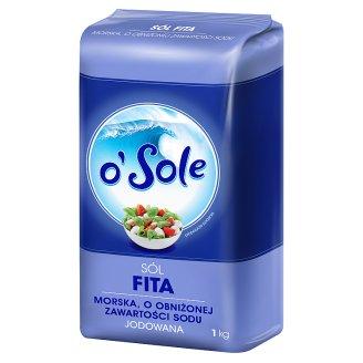 o'Sole Fita Sodium Reduced Dietary Iodized Sea Salt 1 kg