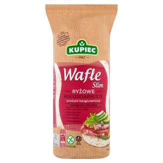 Kupiec Slim Multigrain Rice Cakes 90 g (18 Pieces)