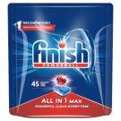 Finish All in 1 Max Tabletki do mycia naczyń w zmywarce 720 g (45 sztuk)