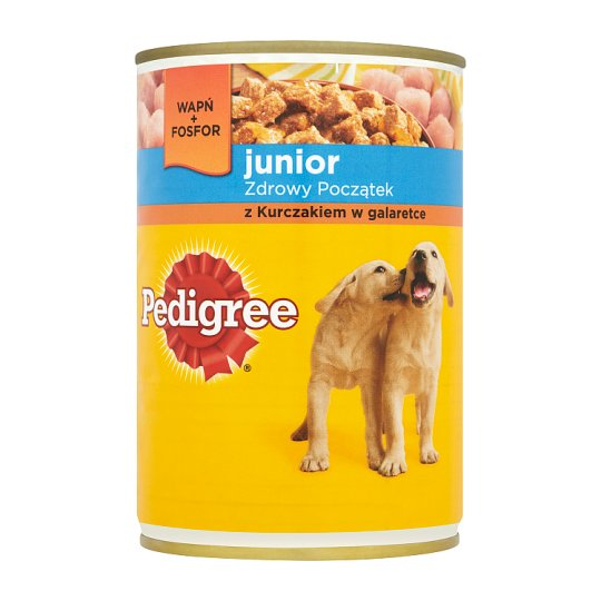 Pedigree Junior Complete Food for Puppies with Chicken in Jelly 400 g