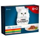 Gourmet Perle Pełnoporcjowa karma dla dorosłych kotów mini fileciki w sosie 680 g (8 x 85 g)
