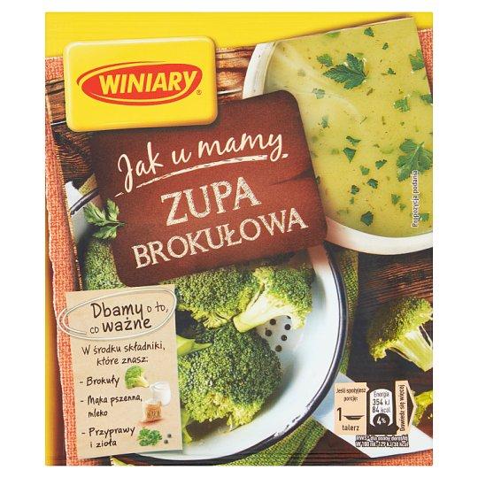Winiary Jak u Mamy Broccoli Soup 49 g