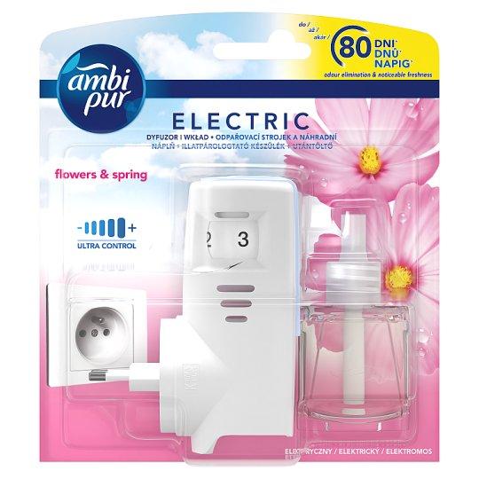 Ambi Pur Air Freshener Plug-In Starter Kit Flowers & Spring 20ml