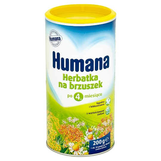 Humana Baby's Tummy Tea after 4. Months Onwards 200 g