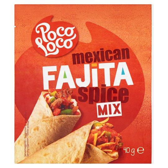 Poco Loco Mieszanka przypraw do Fajita 40 g