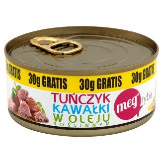 Mega Ryba Tuna Chunks in Vegetal Oil 170 g