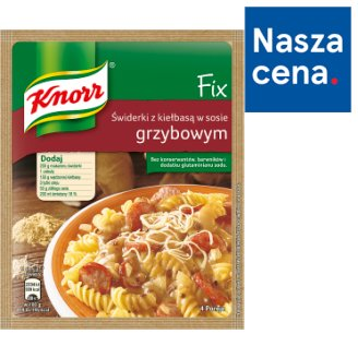 Knorr Fix Pasta with Sausage in Mushroom Sauce 36 g