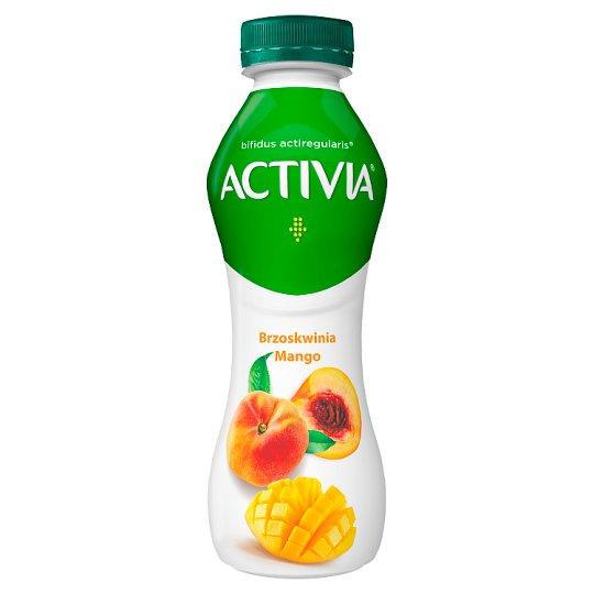 Danone Activia Peach and Mango Yoghurt 300 g
