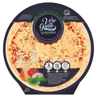 Vero Gusto Quattro Formaggi Four Cheese Pizza 0.350 kg