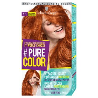 Schwarzkopf #Pure Color Hair Colorant Bright Cinnamon 7.7