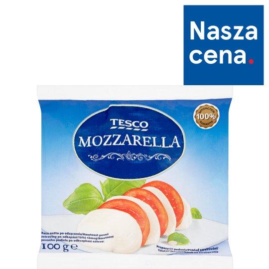 Tesco Mozzarella Ser w zalewie 100 g