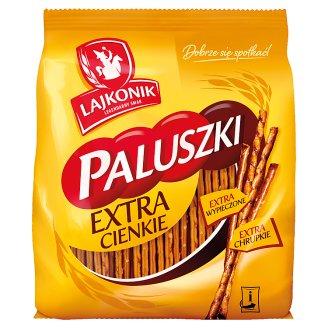 Lajkonik Extra Thin Salty Sticks 180 g