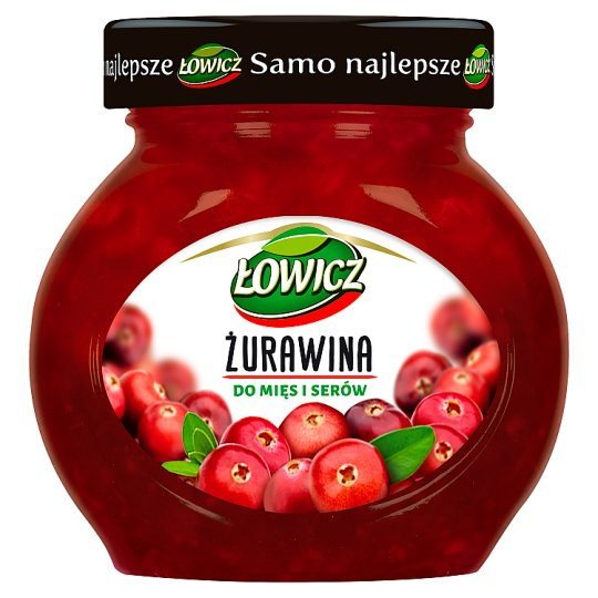 Łowicz Cranberries for Meat and Cheese 230 g