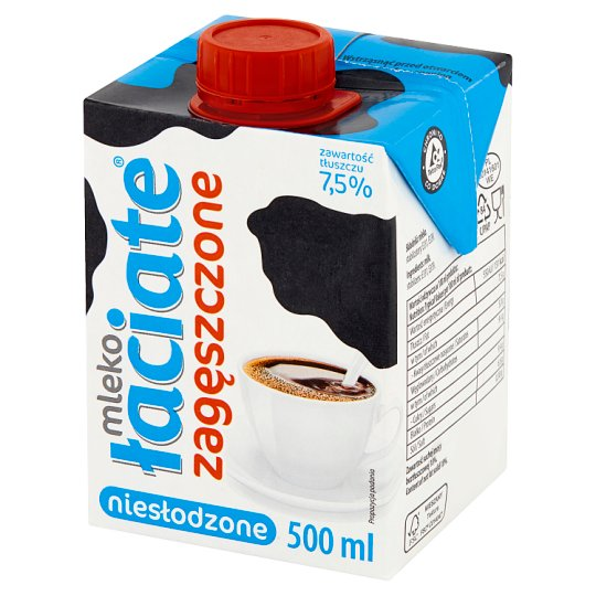 Łaciate 7.5% Evaporated UHT Milk 500 ml