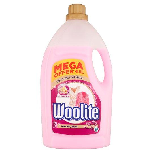 Woolite Delikatne tkaniny i wełna z keratyną Płyn do prania 4,5 l (75 prań)