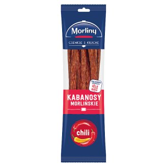 Morliny Chili Thin Smoked Sausages 105 g
