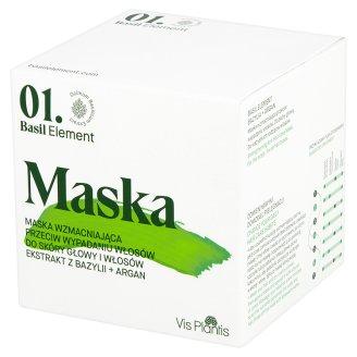 Vis Plantis Basil Element Strengthening Anti Hair Loss Mask 200 ml