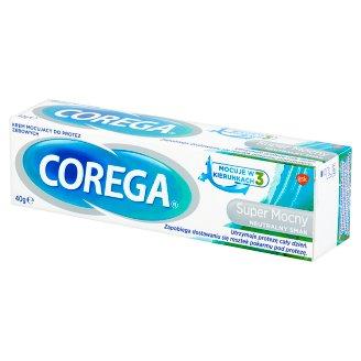 Corega Super Mocny Neutralny Smak Krem mocujący do protez zębowych 40 g