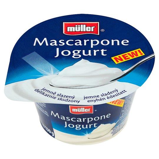 Müller Mascarpone Slightly Sweetened Yoghurt 130 g