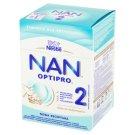 NAN OPTIPRO 2 Mleko modyfikowane w proszku dla niemowląt powyżej 6. miesiąca 800 g (2 x 400 g)