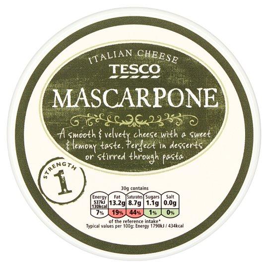 Tesco Mascarpone Cheese 250 g