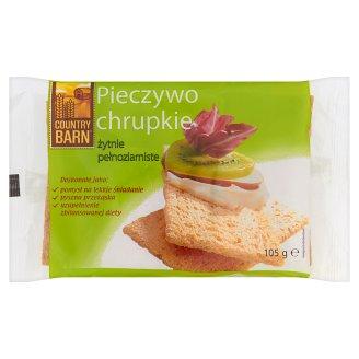 Country Barn Crisp Rye Wholemeal Bread 105 g