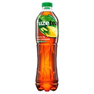 FuzeTea Black Ice Tea Lemon Lemongrass Drink 1.5 L