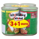 Kitekat Complete Food for Adult Cats with Chicken in Sauce and with Beef in Sauce 4 x 400 g