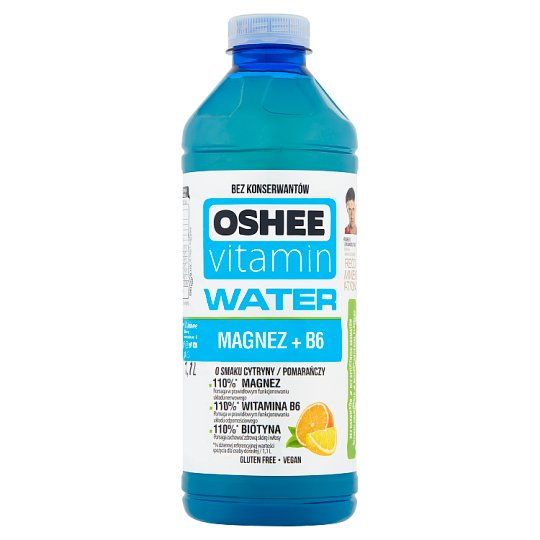 Oshee Vitamin Water Lemon and Orange Flavoured Drink 1.1 L