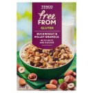 Tesco Free From Mieszanka zbóż z rodzynkami kokosem i orzechami laskowymi i migdałami 340 g