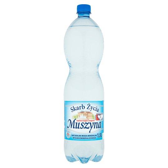 Muszyna Skarb Życia Lightly Sparkling Natural Mineral Water 1.5 L