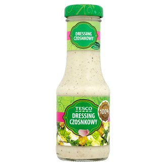 Tesco Garlic Dressing 200 ml