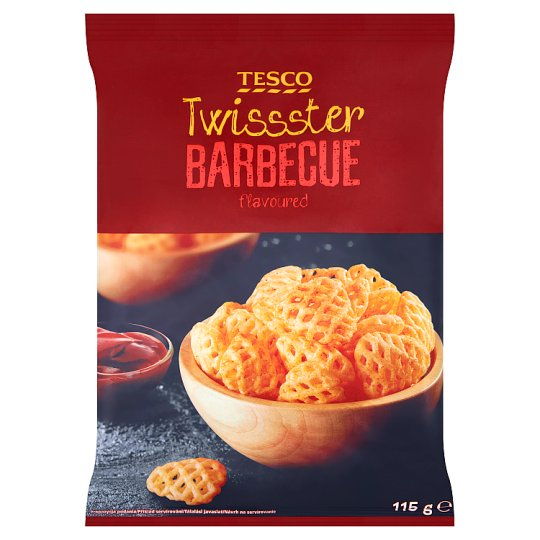 Tesco Twissster Barbecue Flavoured 115 g
