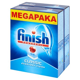 Finish Classic Dishwasher Detergent in Tabs 2 x 978 g (2 x 60 Pieces)