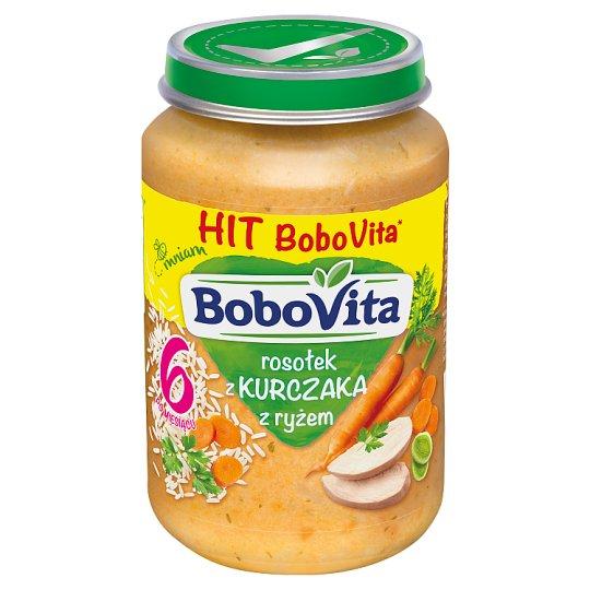 BoboVita Chicken Broth with Rice after 6 Months Onwards 190 g