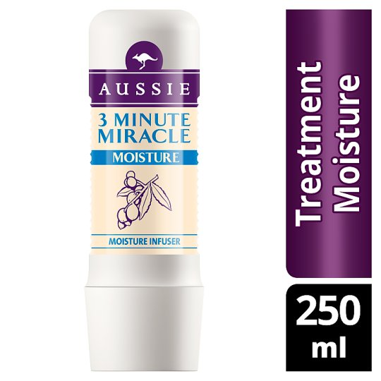 Aussie 3 Minutes Miracle Moisture Intensywna kuracja do włosów suchych 250 ml