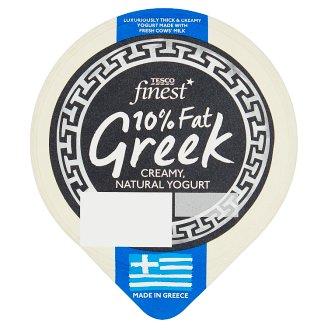 Tesco Finest 10% Fat Greek Natural Yogurt 150 g