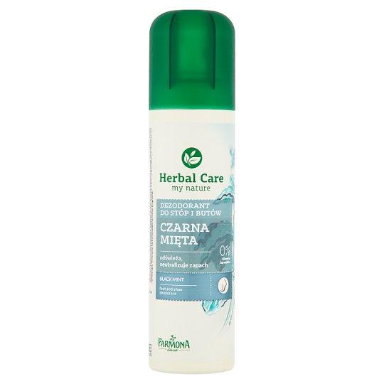 Farmona Herbal Care Black Mint Foot and Shoe Deodorant 150 ml