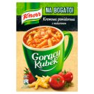 Knorr Gorący Kubek Na Bogato! Kremowa pomidorowa z makaronem 34 g