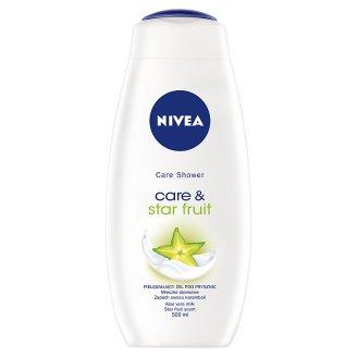 NIVEA Care & Star Fruit Pielęgnujący żel pod prysznic 500 ml